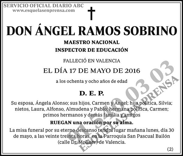Ángel Ramos Sobrino